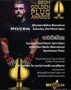 """Boxer presents the """"Golden Plug Awards"""" @ Boxer café"""